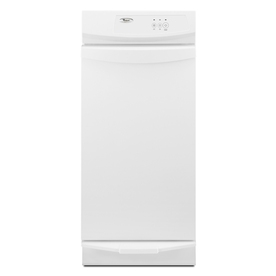 Whirlpool Gold 15-in White Undercounter Trash Compactor