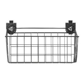 Gladiator 18-in W x 11-in H Gray Wire Garage Storage Basket
