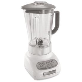 KitchenAid 56-oz White 5-Speed 0.9-Watt Pulse Control Blender