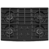 Whirlpool 30-in 4-Burner Gas Cooktop (Black)