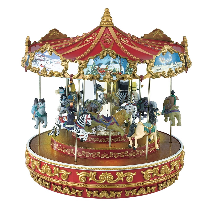 Shop Mr. Christmas Triple Decker Carousel At Lowes.com