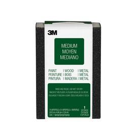 3M 2.62-in x 3.75-in 100-Grit Commercial Sanding Sponge
