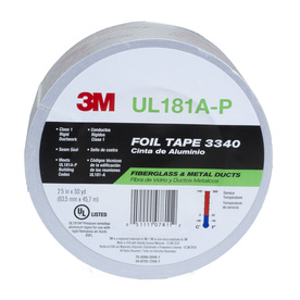 3M 2.5-in W x 150-ft L HVAC Tape