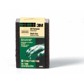 3M All Purpose Sanding Sponge- Medium/Coarse 3-3/4 In x 2-5/8 In