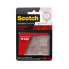 Scotch 2-Pack 1-in x 3-in Clear Fasteners