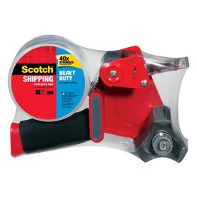 Scotch 1.88-in x 164-ft Clear Packaging Tape with Dispenser