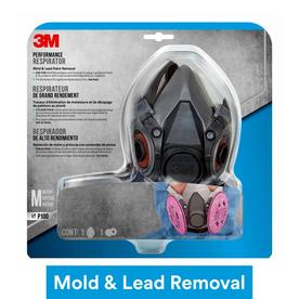 3M 3M(TM) TEKK Protection(TM) Mold and Lead Paint Removal Respirator
