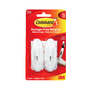 Command 2-Pack Plastic Adhesive Hooks