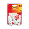 Command 6-Pack Plastic Adhesive Hooks
