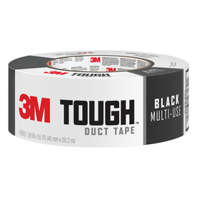 3M 1.88-in x 165-ft Black Duct Tape