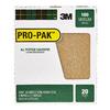 3M 20-Pack 9-in W x 11-in L 100-Grit Industrial Detail Sandpaper