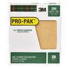 3M 20-Pack 220-Grit 9-in W x 11-in L Surface Smoothing Sandpaper
