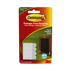 Command 4-Pack Adhesive Hooks