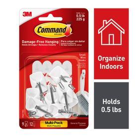 Command 9-Pack Adhesive Hooks