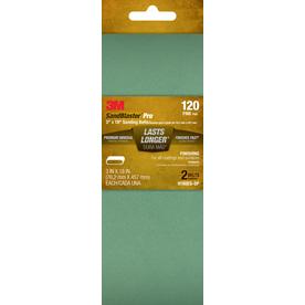 3M 2-Pack 120-Grit 3-in W x 18-in L Belts Sandpaper