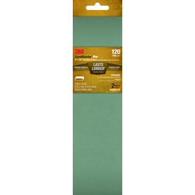 3M 2-Pack 3-in W x 24-in L 120-Grit Commercial Belts Sandpaper
