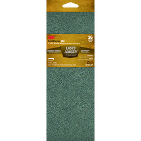 3M 2-Pack 4-in W x 24-in L 36-Grit Commercial Belts Sandpaper