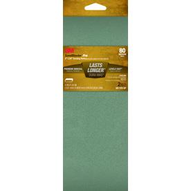 3M 2-Pack 4-in W x 24-in L 80-Grit Commercial Belts Sandpaper