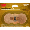 3M 3-Pack 2-in W x 2-in L Sandpaper