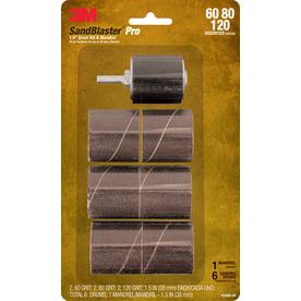 3M 1.5-in W x 1.5-in L Commercial Sandblaster Pro Small-Area Combi-Wheels Sandpaper
