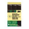 3M 3M Sanding Sponge, 3 Pack, Single Angle, 4.625 In x 2.875 In x 1 In, Fine Grit