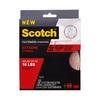 Scotch 1-in x 120-in Clear Roll Fastener