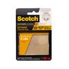 Scotch 2-Pack 1-in x 3-in Clear Rectangle Fasteners