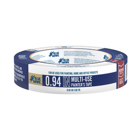 Blue Hawk 0.94-in x 180-ft Multi-Surface Painter's Tape