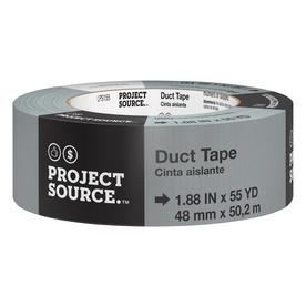 Project Source 1.88-in x 165-ft Grey Duct Tape