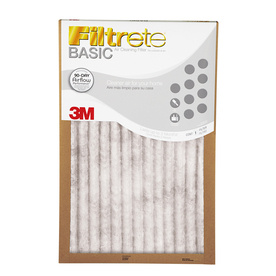 Filtrete Basic Pleated Pleated Air Filter (Common: 20-in x 22-in x 1-in; Actual: 19.7000-in x 21.6-in x 0.8125-in)
