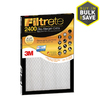 Filtrete Electrostatic Pleated Air Filters (Common: 20-in x 30-in x 1-in; Actual: 19.6-in x 29.7-in x 0.8125-in)