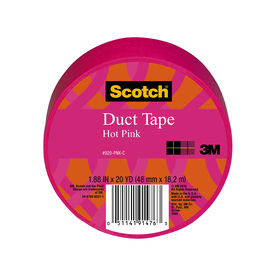 Scotch 1.88-in x 60-ft Pink Duct Tape