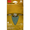 3M 4-Pack 60-Grit 4-3/16-in W x 6-3/4-in L Sandpaper