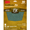 3M 4-Pack 80-Grit 9-in W x 11-in L Sandpaper