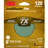 3M 4-Pack 5-in W x 5-in L 120-Grit Commercial Discs Sandpaper