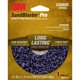 3M 4.5-in W x 4.5-in L Commercial Discs Sandpaper