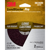 3M 2-Pack 4-1/2-in W x 4-1/2-in L Discs Sandpaper