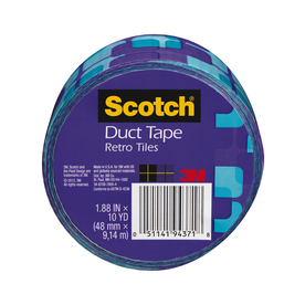 Scotch 1.88-in x 30-ft Violet Purple Duct Tape