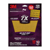 3M 12-Pack 9-in W x 11-in L 120-Grit Commercial Sandpaper Sheets