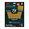3M 10-Pack 9-in W x 11-in L 80-Grit Commercial Sandpaper Sheets
