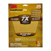 3M 320-Grit 9-in W x 11-in L Sandpaper