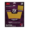 3M 120-Grit 9-in W x 11-in L Sandpaper