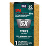 3M 2.5-in x 4.5-in 60-Grit Commercial Sanding Sponge