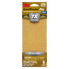 3M 8-Pack 3.66-in W x 9-in L 220-Grit Commercial Finishing Sandpaper