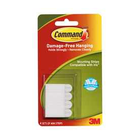 Command 4-Pack Adhesive Hook