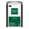 3M 2.8-in x 4-in Multi-Grade Pack Commercial Sanding Sponge