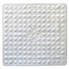 Better Bath 21-in x 21-in White Vinyl Bath Mat