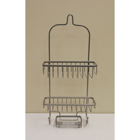 shop better bath 23 in h over the showerhead steel hanging