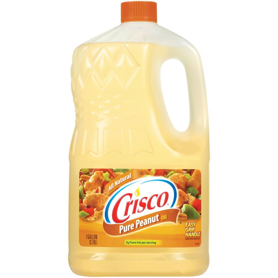 Shop Crisco 1-Gallon Peanut Oil at Lowes.com