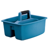 United Solutions 13.25-in W x 10.5-in H Blue Plastic Bin